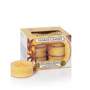 Yankee Candle Star Anise & Orange Teelichter 118 g